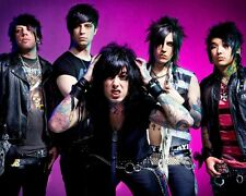 Falling In Reverse Music Stars Fabric Art Cloth Poster 16inch x 13inch Decor 07