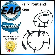 For 2002-2008 Mini Cooper 1.6L 4cyl PAIR FRONT & REAR Brake Pad Wear Sensor NEW