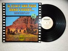 """LP ENNIO MORRICONE """"Il était une fois dans l'ouest"""" NEUILLY NLY P 2076 FRANCE §"""