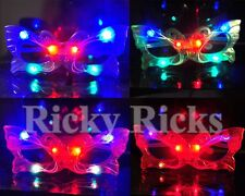 12 PCS Light Up Butterfly Glasses LED Flashing Blinking Sunglasses Rave EDC