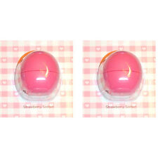 EOS Smooth Sphere Lip Balm -Strawbery Sorbet Duo (0.25 oz. x 2)