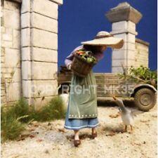 Escala 1/35 Mujer agricultor y un kit de modelo de resina de ganso