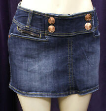 NEW AUTHENTIC WOMEN ROCAWEAR JEANS SKIRTS SIZE 9
