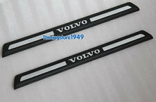 2PCS Rear Door sill scuff plate Guard For VOLVO XC90