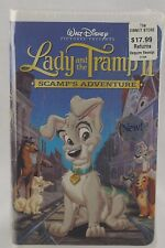 SEALED Lady and the Tramp II: Scamp's Adventure VHS 2001 Biggest Baller Edition