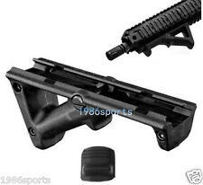 Black Angled Hand Guard Foregrip Fore Grip for 20mm Picatinny Quad Rail #18