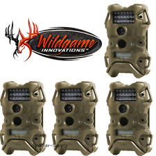 4 Pack Set Wildgame Terra 5 Infrared Digital Trail Game Camera Cam 5MP TR5i2DE4