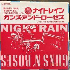 """Guns N' Roses Nightrain 7"""" JAPAN PROMO PRS-2069 slash japanese RARE"""