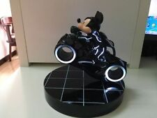 Extremely Rare! Mickey Mouse on Tron Movie Motorbike LE of 500 Figurine Statue