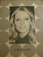 Cheryl Ladd, Charlie's Angels, Suzanne Somers, Double Full Page Vintage Pinup