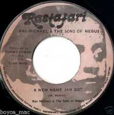 "rastafari 7"" : RAS MICHAEL & SONS OF NEGUS-a new name jah got  (hear)"
