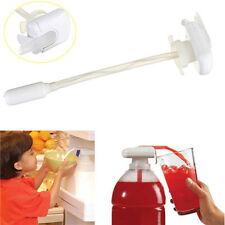 Magic Tap Electric Automatic Water Drink Beverage Dispenser Spill Proof White #4