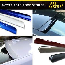 B Style 2007-2013 Painted For Infiniti G35/G37 4D V36 Rear Roof Spoiler