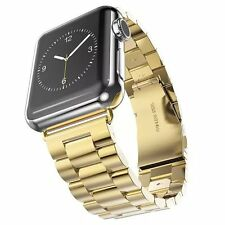 Stainless Steel Strap Classic Buckle Watch Bands for Apple Watch iWatch 38/42mm