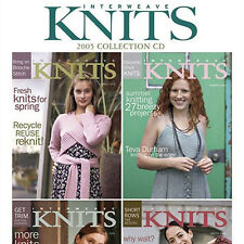 4 Issues on CD: INTERWEAVE KNITS MAGAZINE 2005 Complete