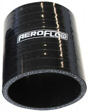 "76mm (3"") Black Silicone Straight Hose Coupler Joiner (3"" - 75mm Long) Aeroflow"