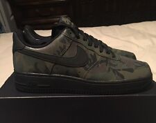 "New Men's Nike Air Force 1 '07 LV8 ""Reflective Camo"", Medium Olive, Size 8"