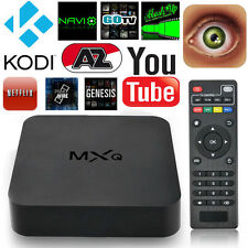 MXQ IPTV Smart TV Box Media Player Android4.4 Quad Core 1G+8G WIFI Kodi HD 1080P