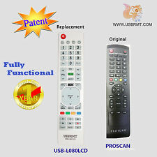 New USB Universal Remote for Model 01 for PROSCAN TV - NO programming Needed