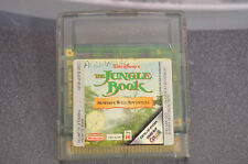 THE JUNGLE BOOK EL LIBRO DE LA SELVA GAME BOY GB GAMEBOY COLOR