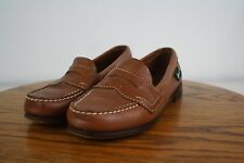 Eastland Leather Loafer Slip On Penny Womens Size 6 M Light Brown