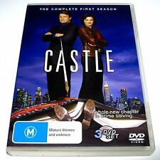 DVD, CASTLE The Complete First (1st) Season, R4, 3 Discs