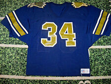 VTG Russell Game Used Worn Football Jersey High School College For Jock Hammered