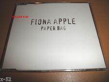 FIONA APPLE rare single CD PAPER BAG 4 tracks LIMP fast as you can