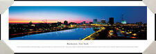 Rochester, New York City Skyline Genesee River Framed Poster Picture I