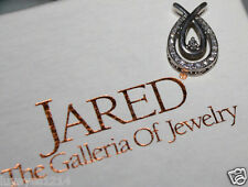 He went to Jared Loves Embrace 1/5ct Diamond sterling silver Pendant 4 necklace