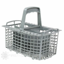 For Whirlpool Dishwasher Drawer Cutlery Basket 230mm x 180mm x 220mm (Grey)