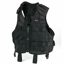 Lowepro S&F Technical Vest Black L/XL fits chest sizes 42-50 in 107-127 cm ~ NEW