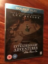 The Extraordinary Adventures Of Adele Blanc Sec (Blu Ray Steelbook UK Region B)