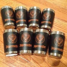 Jagermeister Jager  Shot Glasses  Nice LOOK Lot Set of 8