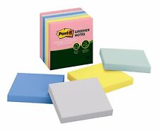 Greener Notes Post-it 6 Pads/Pack 3 in x 3 in Helsinki Collection Memo Sticky