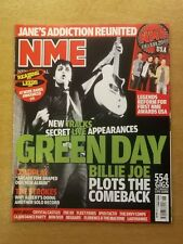 NME MAY 3 2008 GREEN DAY BILLY JOE PILOTS COLDPLAY THE STROKES CRYSTAL CASTLES