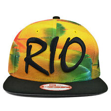 REALLY RIO BRAZIL Snapback 9Fifty New Era Olympic Hat