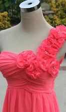 NWT City Triangles Neon Pink $115 Evening Formal Gown 3