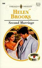Harlequin Presents: Second Marriage No. 1939 by Helen Brooks (1998, Paperback)