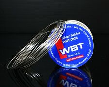 WBT -0825 10ft /0.8mm 3.8%Ag silver Solder FREE SHIPPING TO WORLDWIDE
