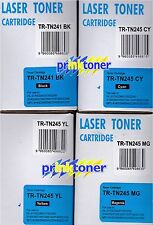 SET OF 4 TONER FOR BROTHER MFC9140,MFC9330,MFC9340,DCP-9020CDN,HL-3170,3140,3150