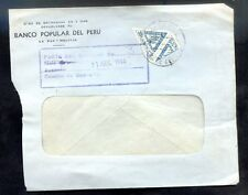 BOLIVIA cover w/Postage Bisected - VF