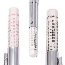 25mm Motor Car Bike Metric Standard Depth Gauge Measures Tyre Tread