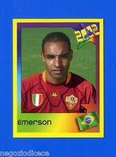 ESTRELLAS DEL FUTBOL 2002 Panini - Figurina-Sticker n. 21 - EMERSON - ROMA -New