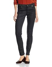 Versace Jeans women's black with small shiny inserts jeans size 30 - SKINNY