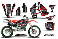 AMR Racing Honda CR500 Graphic Kit # Plates Decal Sticker Part CR 500 89-01 TXR