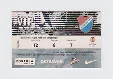 Orig.Ticket   Europa League  2010/11   BANIK OSTRAVA - DNJAPRO MAHILJOU ! SELTEN