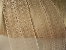 Beige Beading Lace Trim, 5 YARDS, Bridal Accessories, Invitations, Sachets