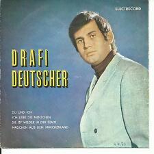 7'EP Drafi Deutscher   Du und Ich+3   ROMANIA/Rümanien Electrecord!!!