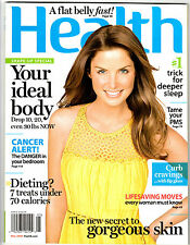 Kara Thomas May 2008 HEALTH MAGAZINE Your Ideal Body Drop 10, 20, even 30lbs Now